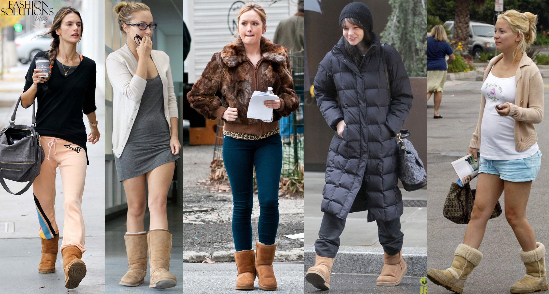 Celebrities wearing Ugg | Star Style - Celebrity fashion