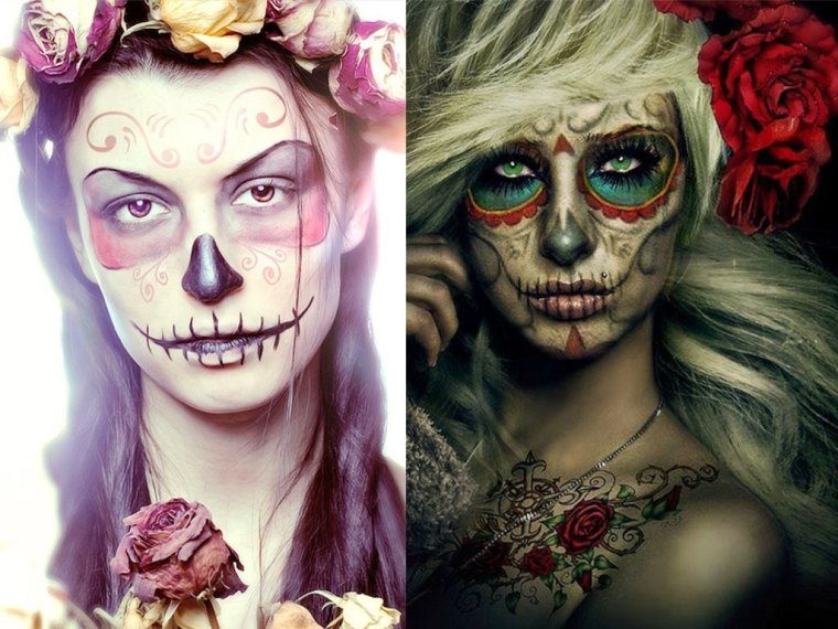 Colorful-spooky-Halloween-Makeup-2014