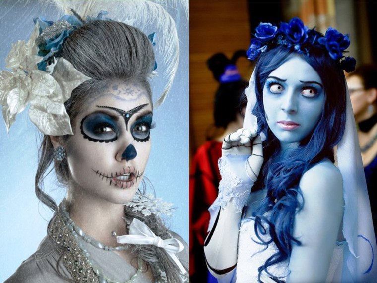 Wedding-Halloween-Makeup-2014