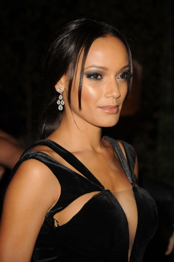 Selita Ebanks attends the New Yorkers For Children 2012 Fall Gala at Cipriani 42nd Street in New York City