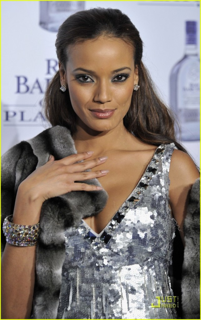 Selita Ebanks and Mar Flores attend New 'Ron Barcelo Gran Platinum' Party
