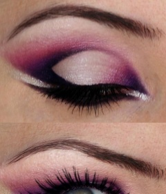 Nice-arabic-edgy-eyes-makeup-in-white-and-pink-and-purple-colors-with-purple-eyeliner-514