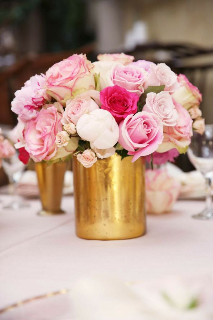 Pink-and-Gold-wedding-Centerpieces