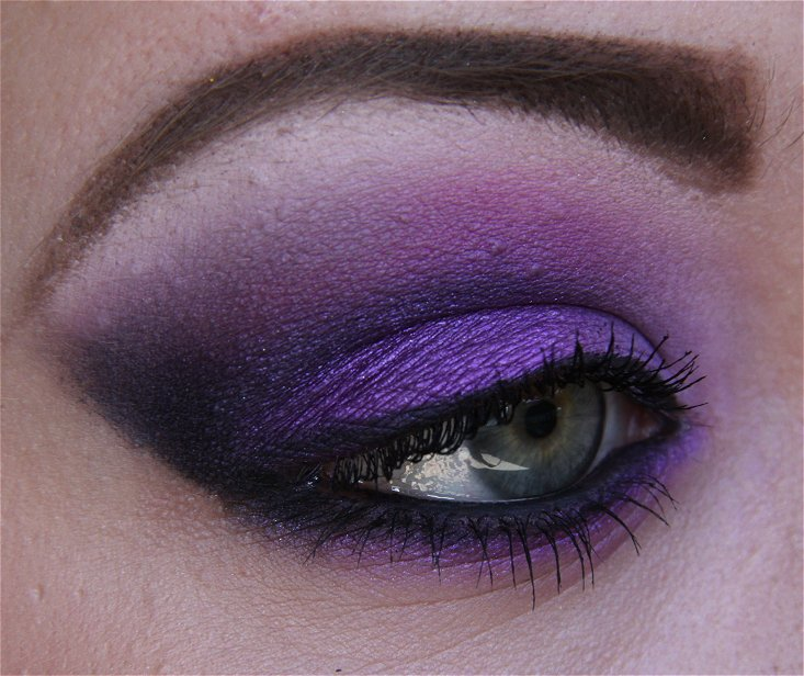 purple makeup looks collection22
